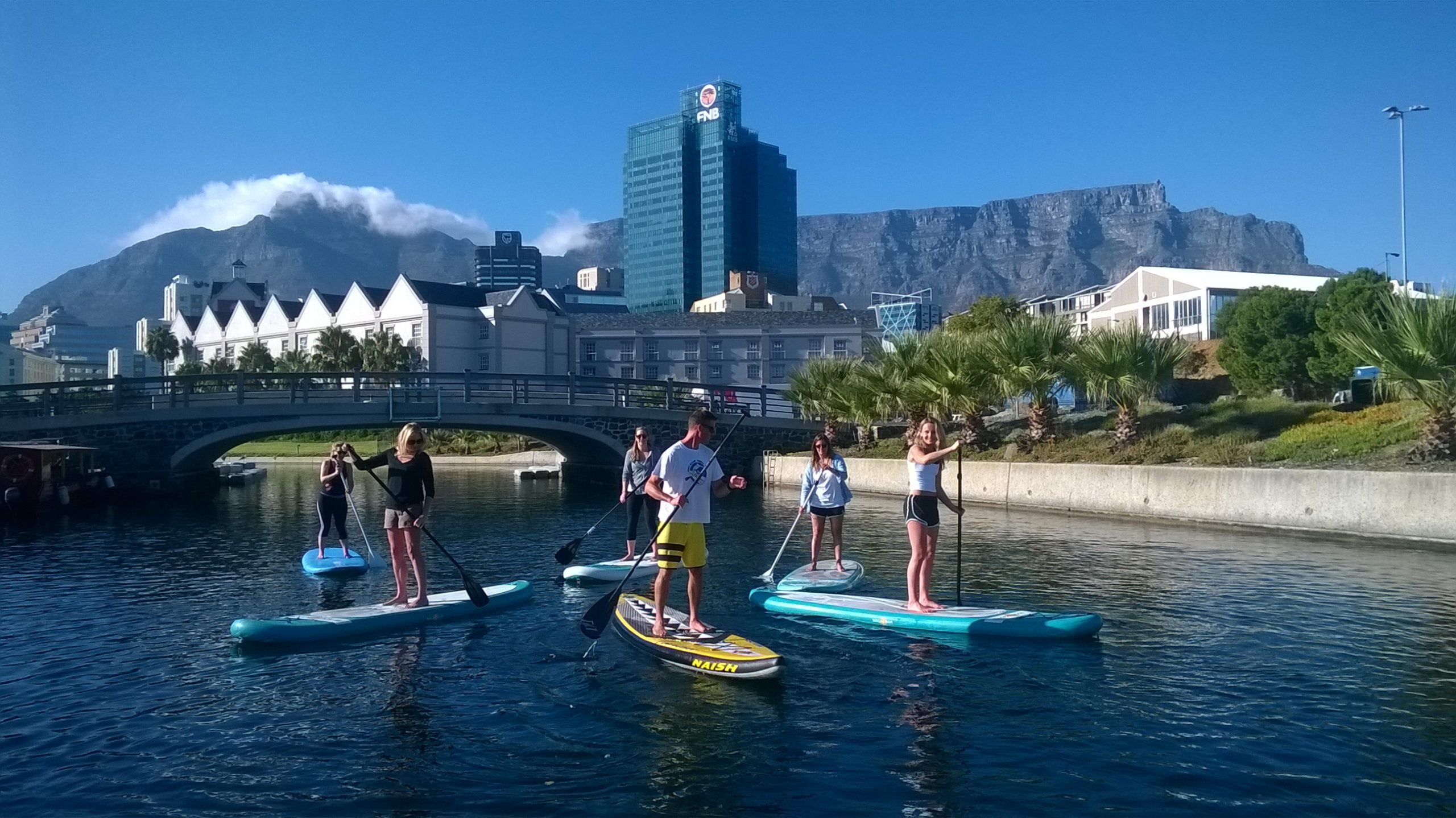 Cape Town paddle boarding