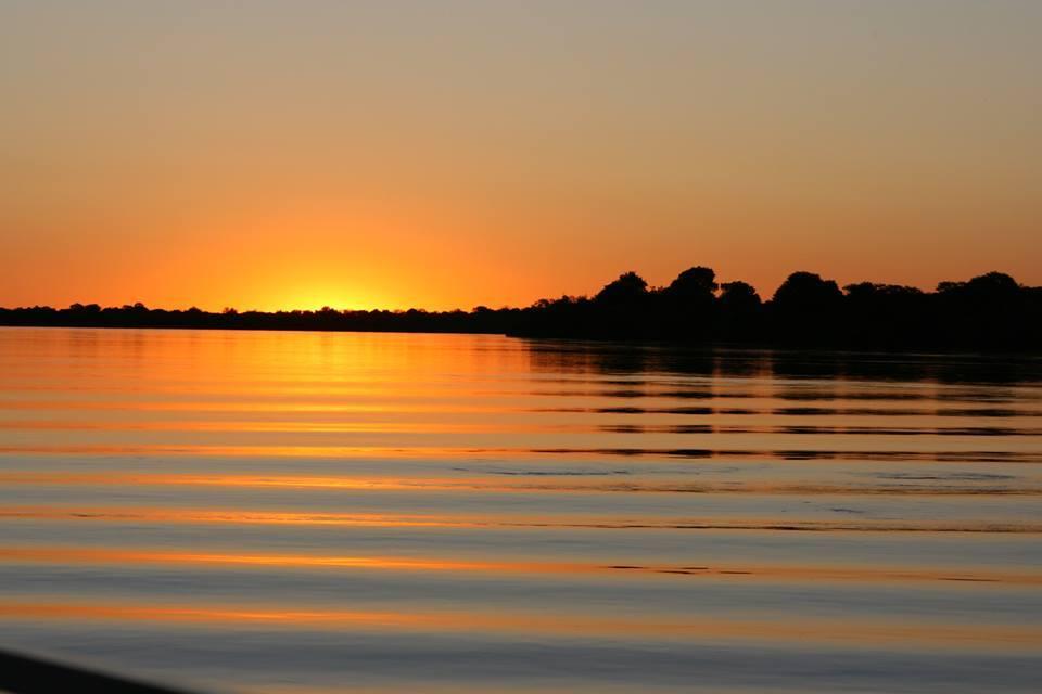 sunset at Royal Chundu