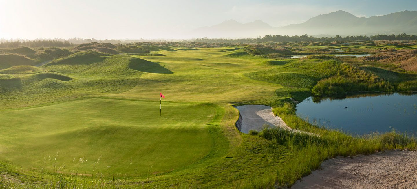 Fancourt golf court in South Africa enjoyed on a golf vacation