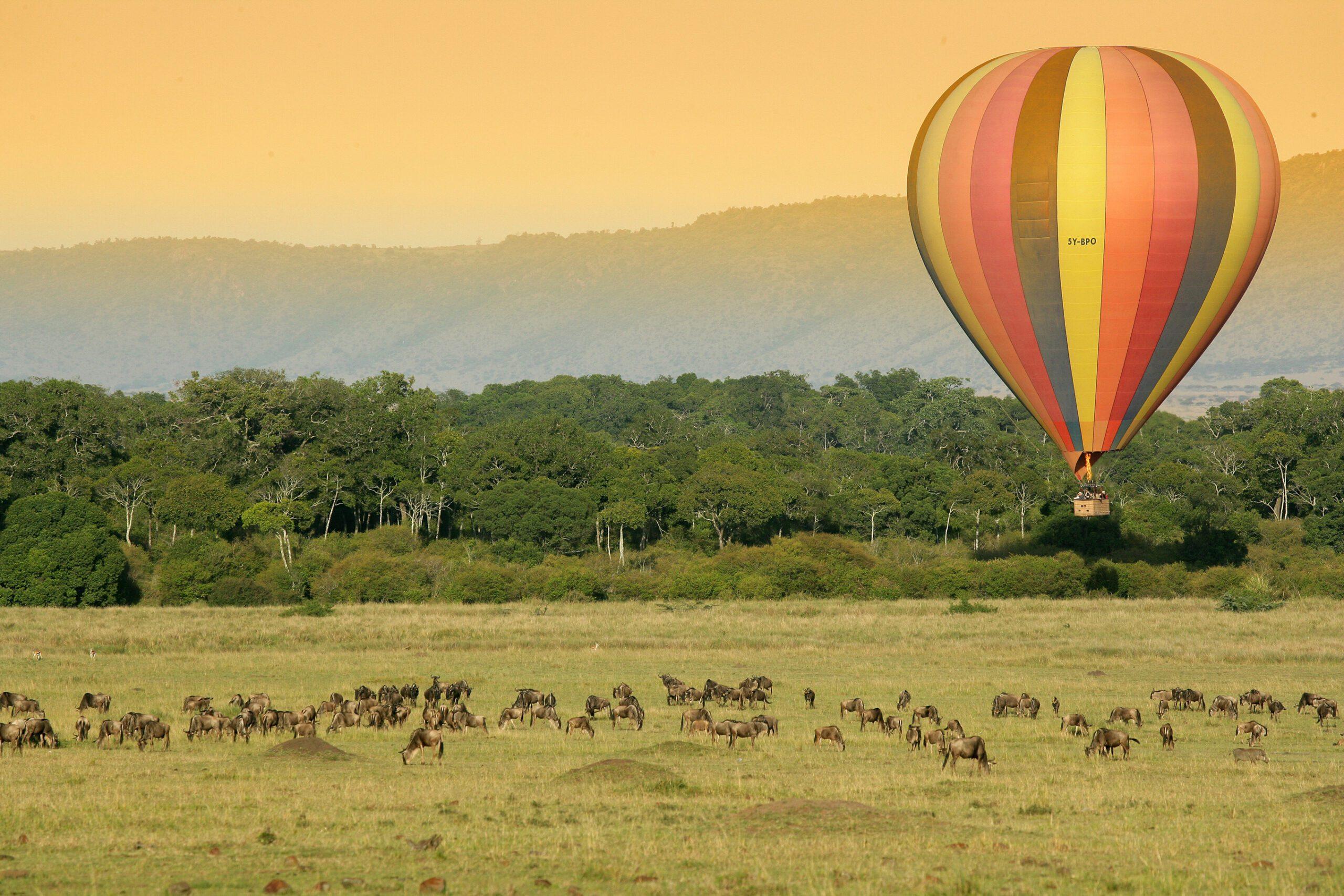 Governor's Camp - Maasai Mara, Kenya balloon safari