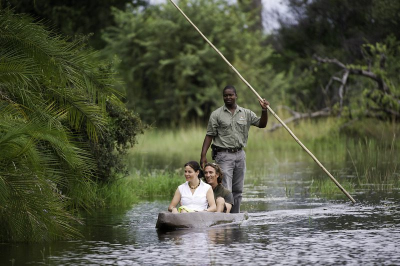 Mokoro ride at Kwetsani Camp