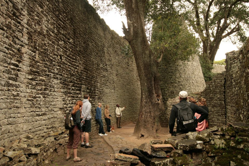 Zimbabwe Ruins seen on a historical site safari