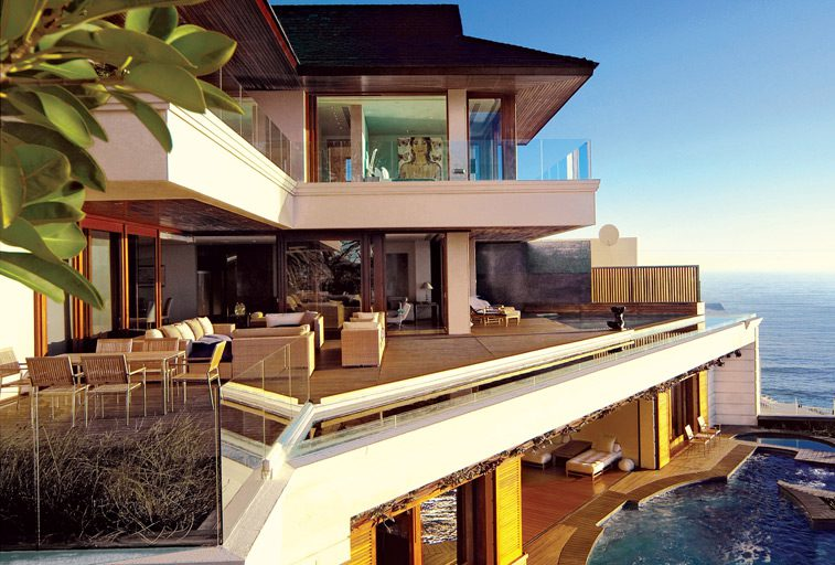 enjoy South Africa private villas like this ellerman house villa one balconies