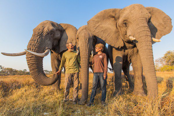 Doug and Sandi Groves the elephants' caregivers_Life Through a Lens Photography