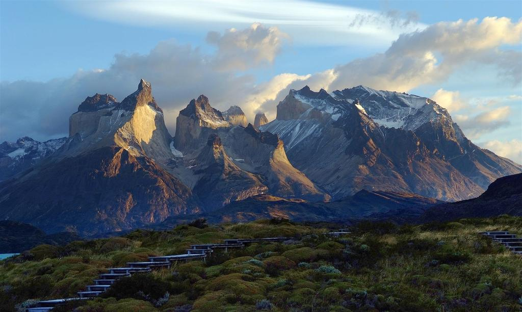 granite mastifs in Torres del Paine National Park