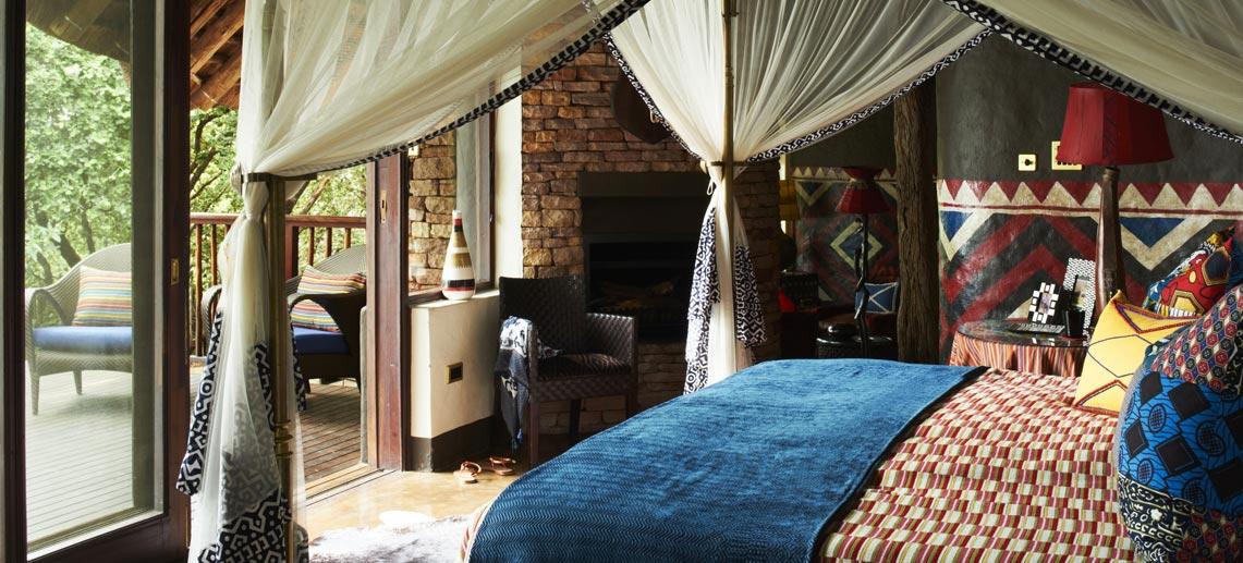 Stay in Singita Pamushana room on our luxury Zimbabwe and Botswana safari