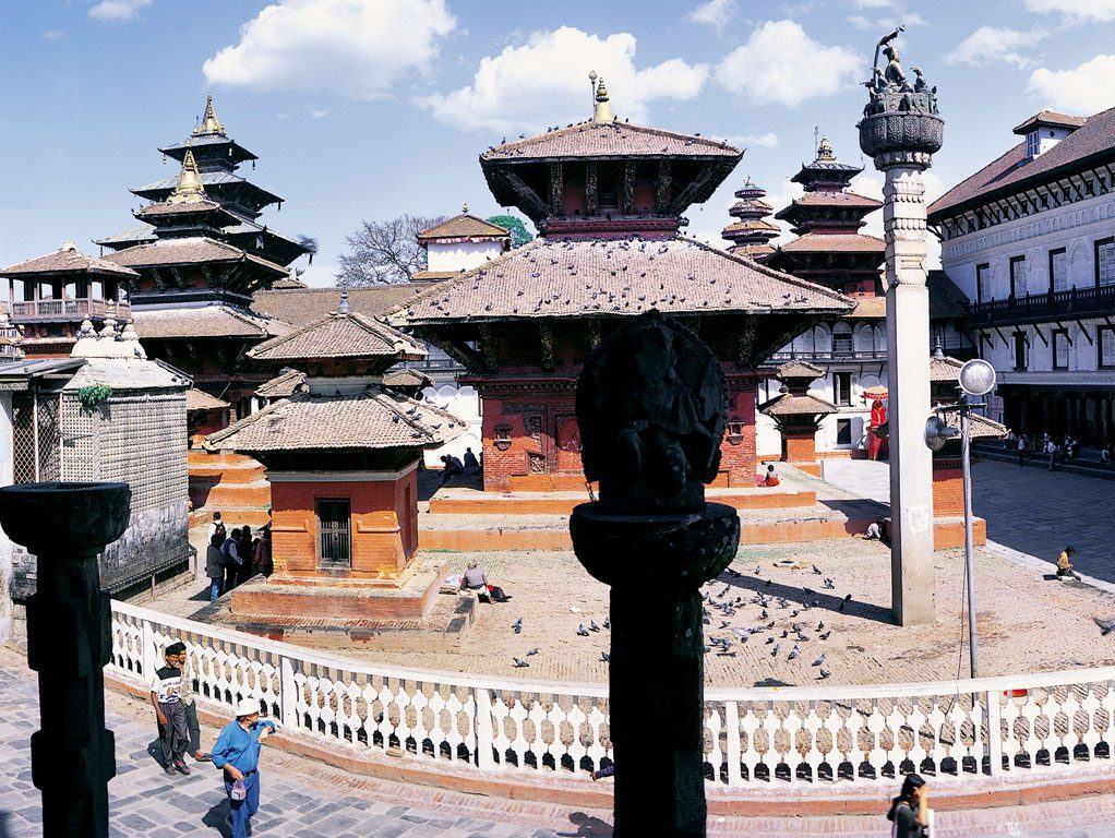 buildings in Durbar Square
