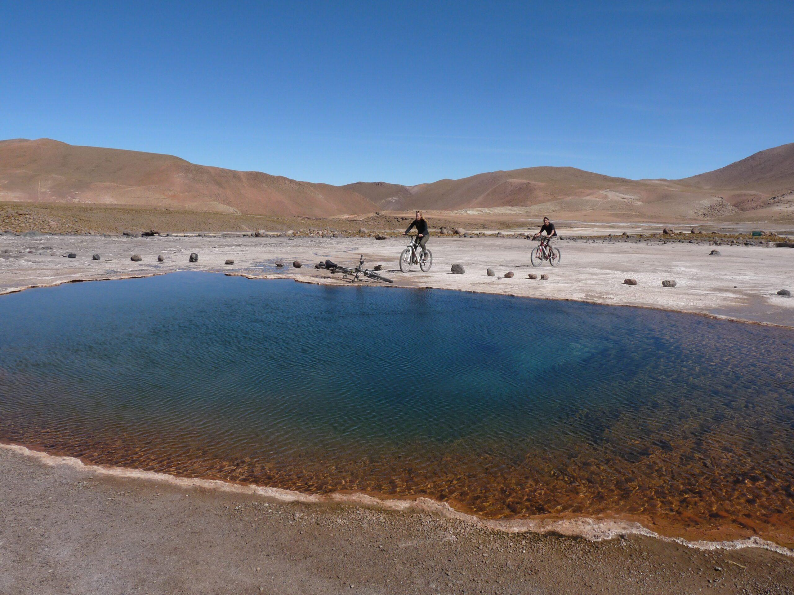 Cycling through the Atacama Desert