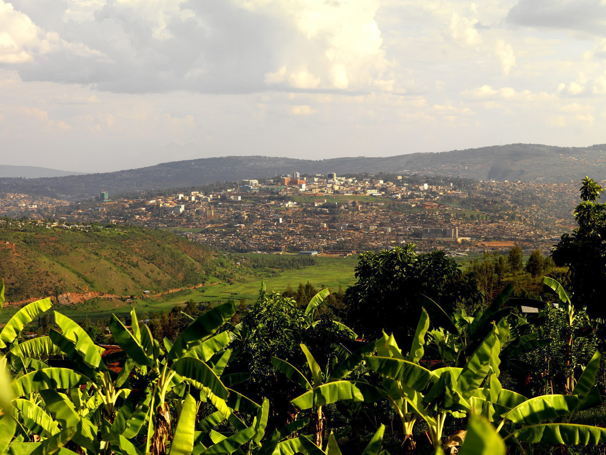 view looking at Kigali