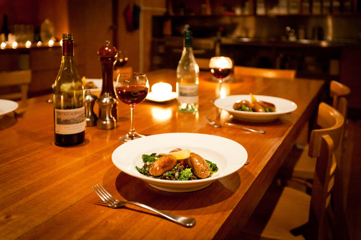Delicious cuisine on the Cradle Mountain Huts Walk