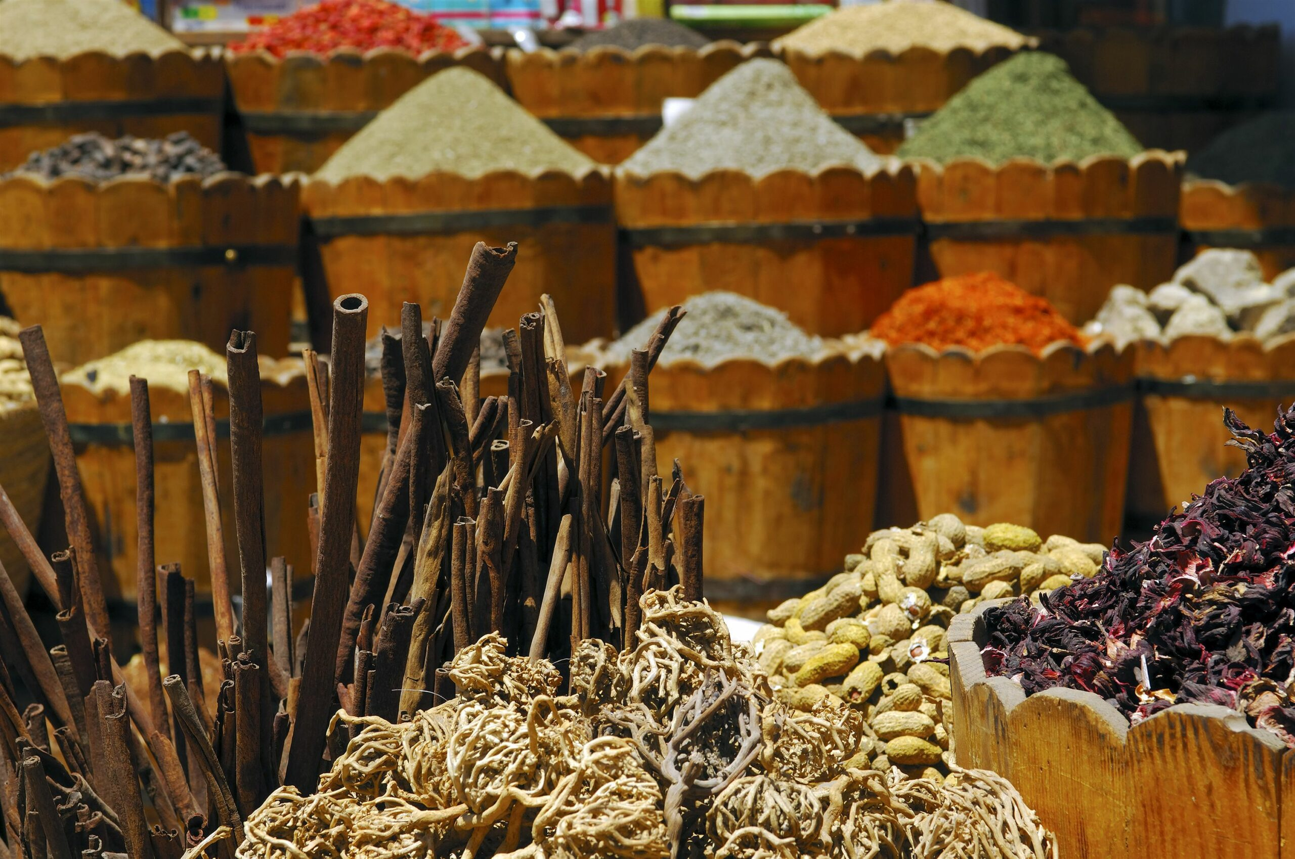 Spices at Egypt Market