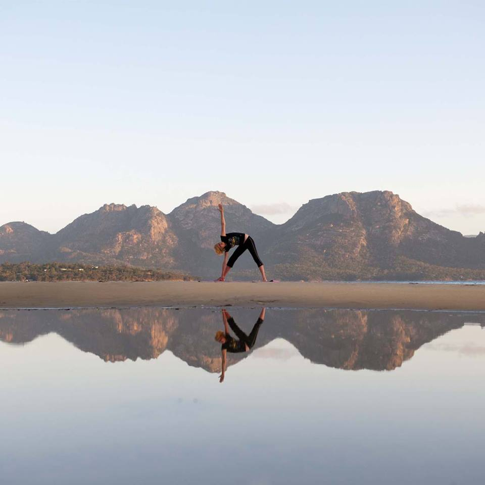 Yoga at Saffire Freycinet