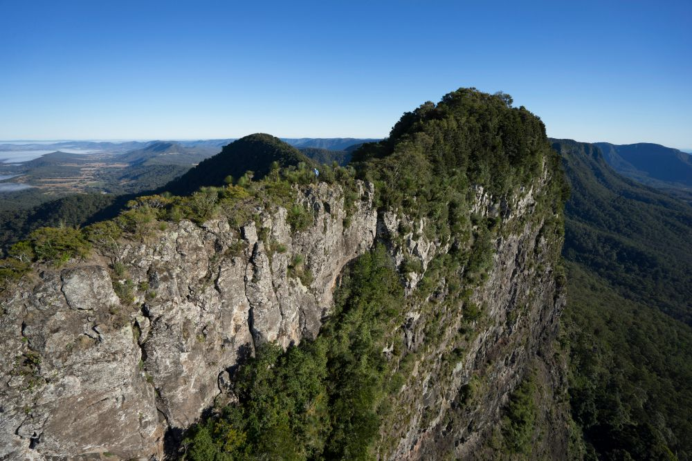 seen on Australia safari are stunning views from Spicers Peak Lodge Scenic Rim Trail