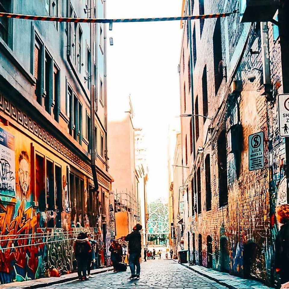 Laneways from Visit Melbourne FB