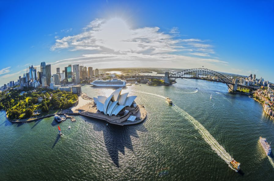 Australia tour provides a birdseye view of Sydney Harbour, Sydney Opera House and Sydney Harbour Bridge
