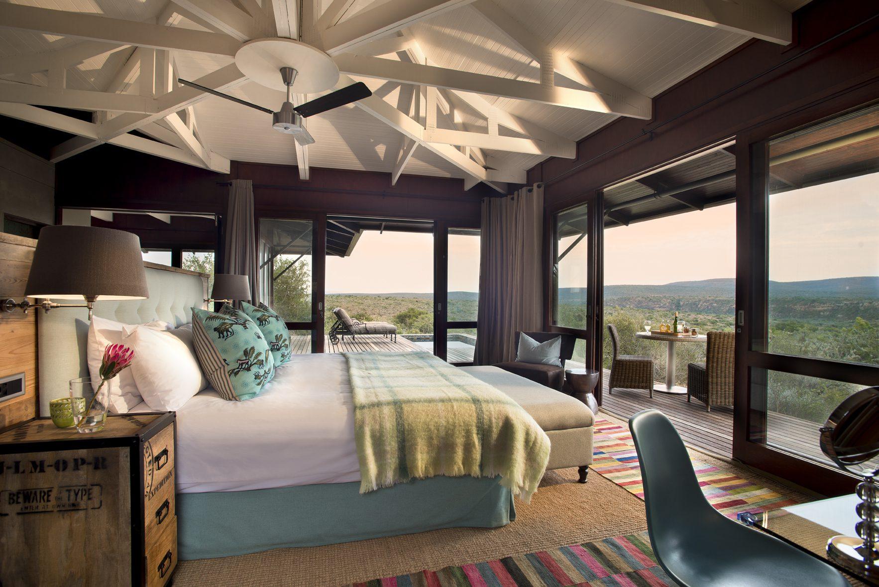 Ecca Lodge Room, Kwandwe