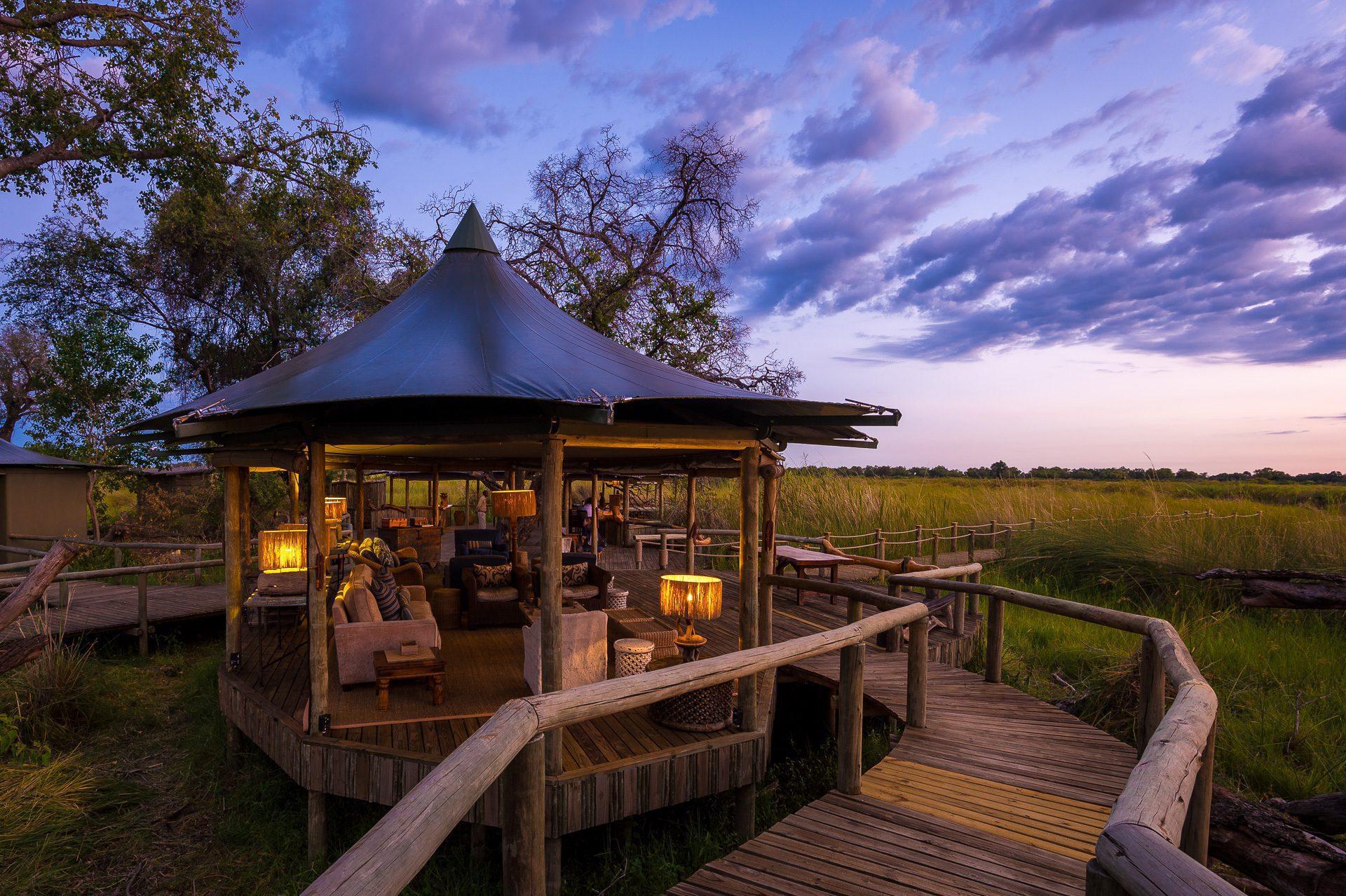Little Vumbura Lounge Area