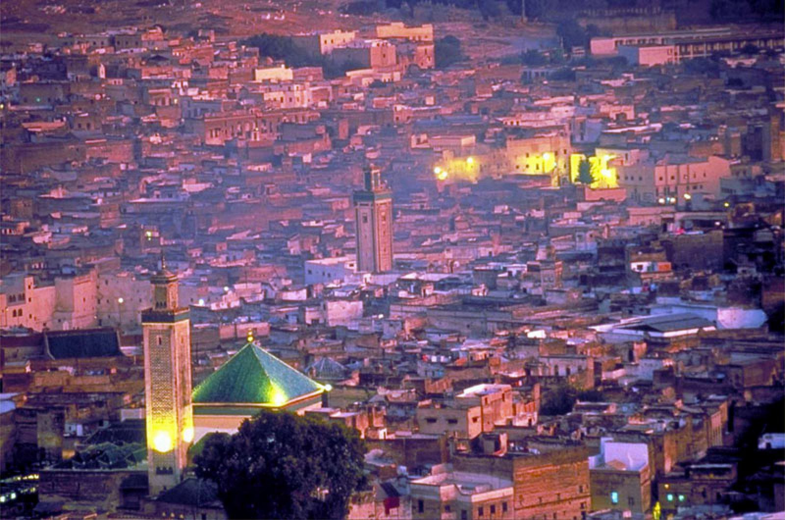 Visit Morocco's City of Fez at night