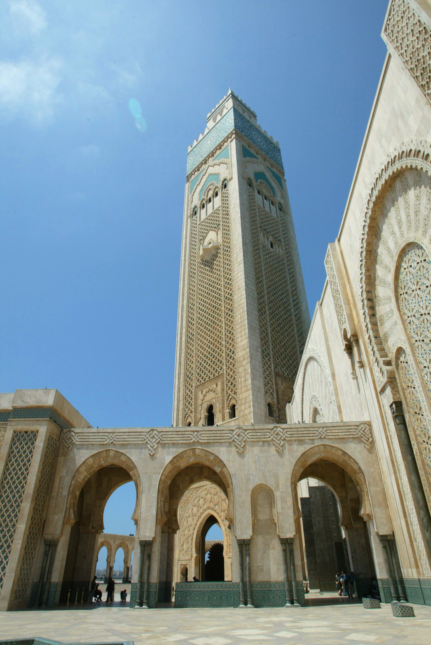 Casablanca, Morocco Mosque is one of many things to do in Morocco