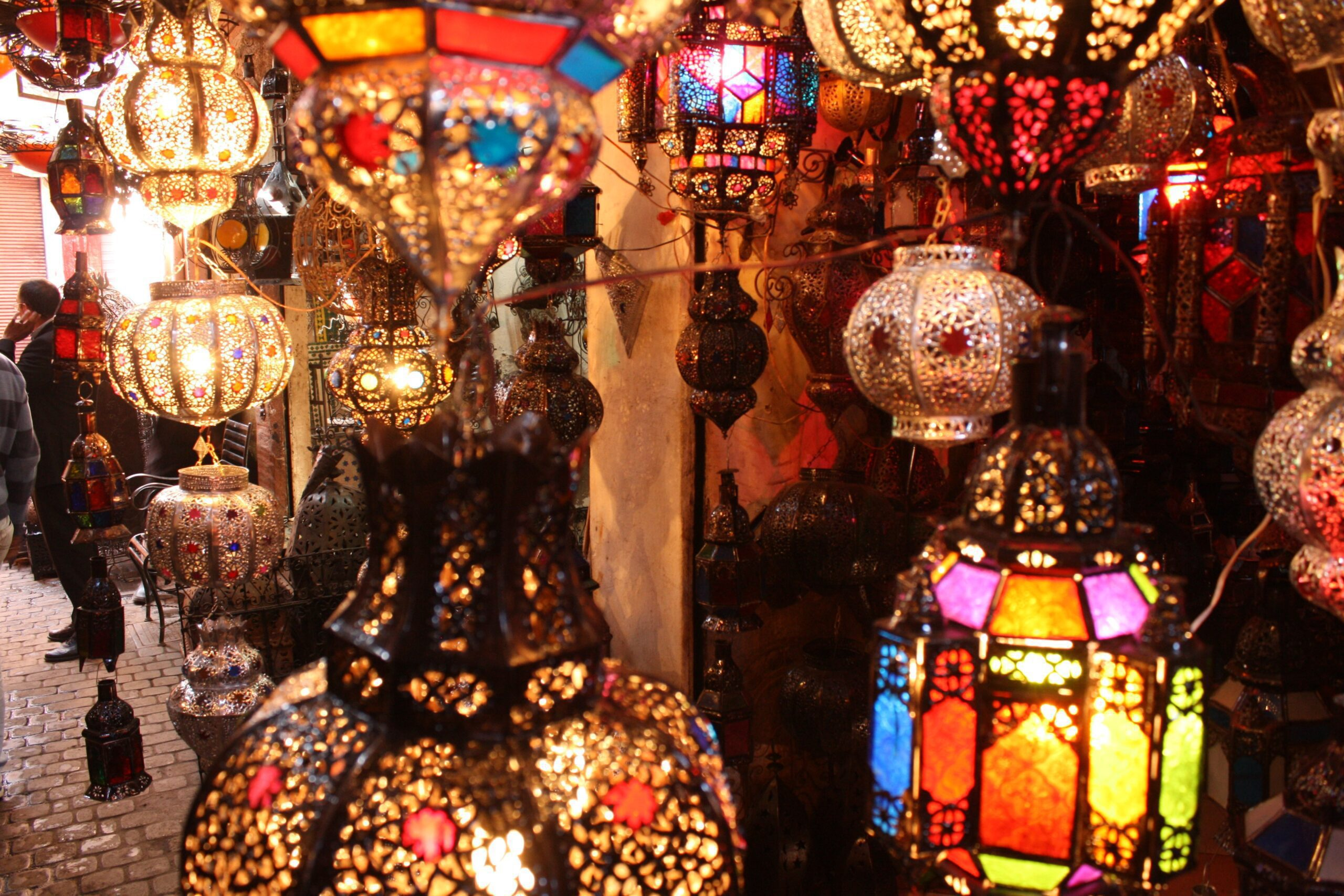Treasures in the souk of Marrakech