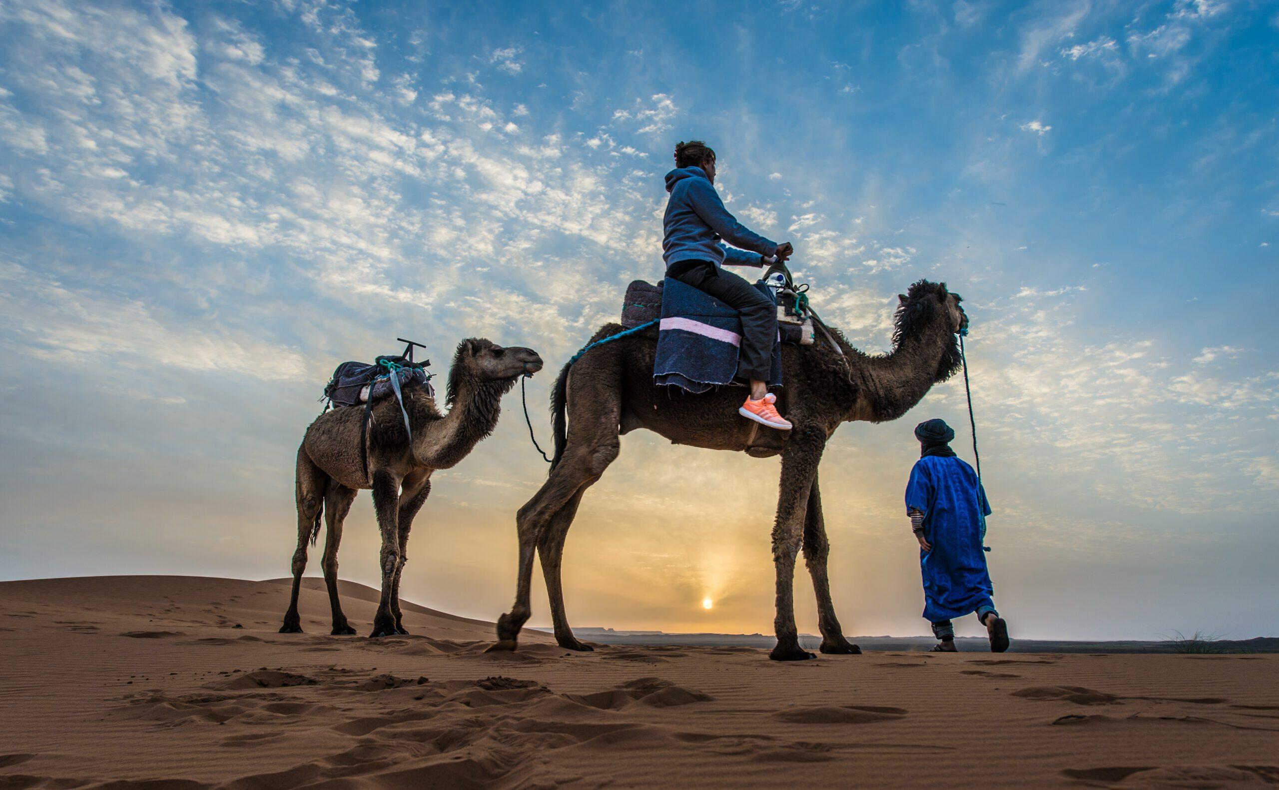Gold Sand Camp, Moroccan Sahara