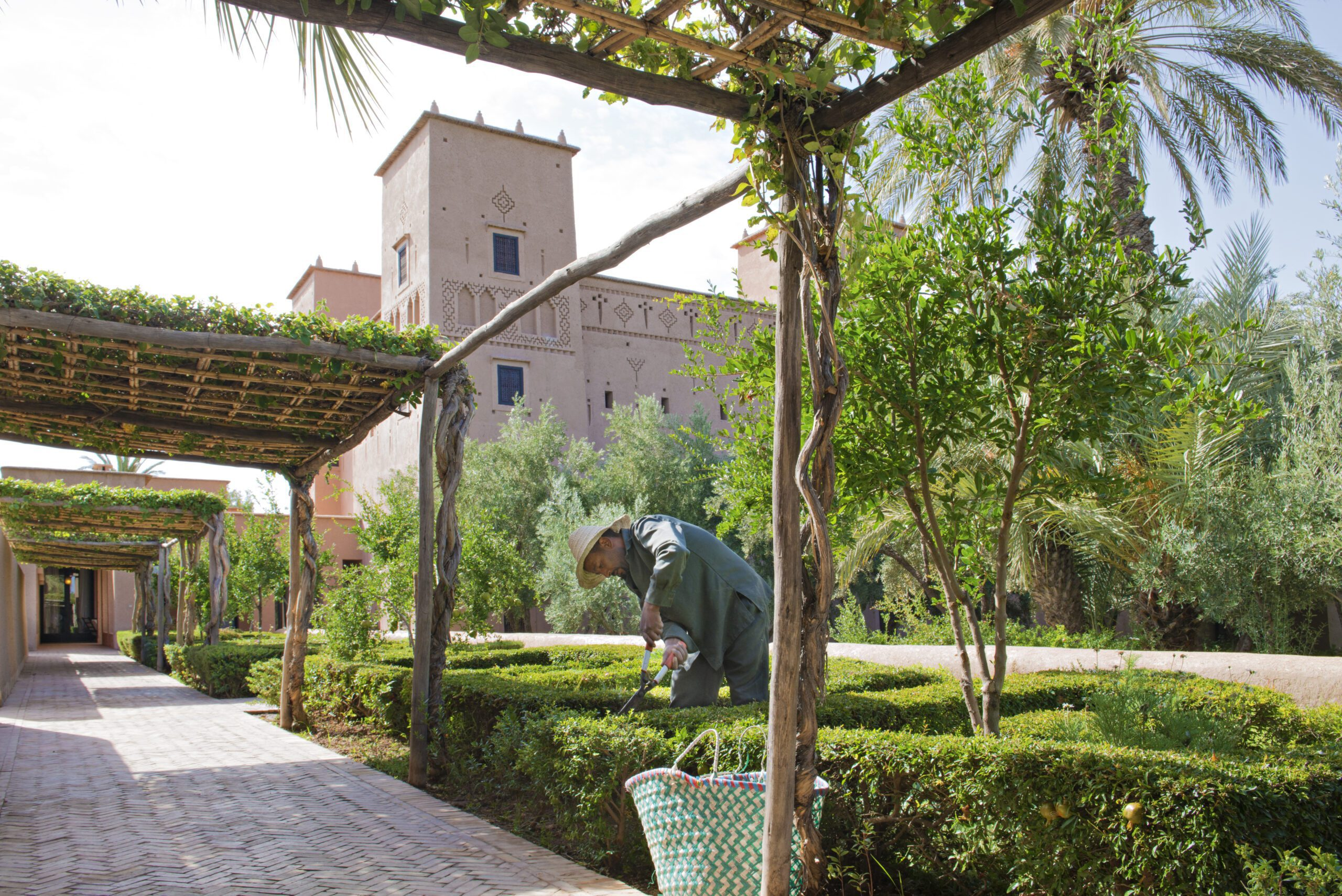 Things to do in Morocco tour the gardens at Dar Ahlam