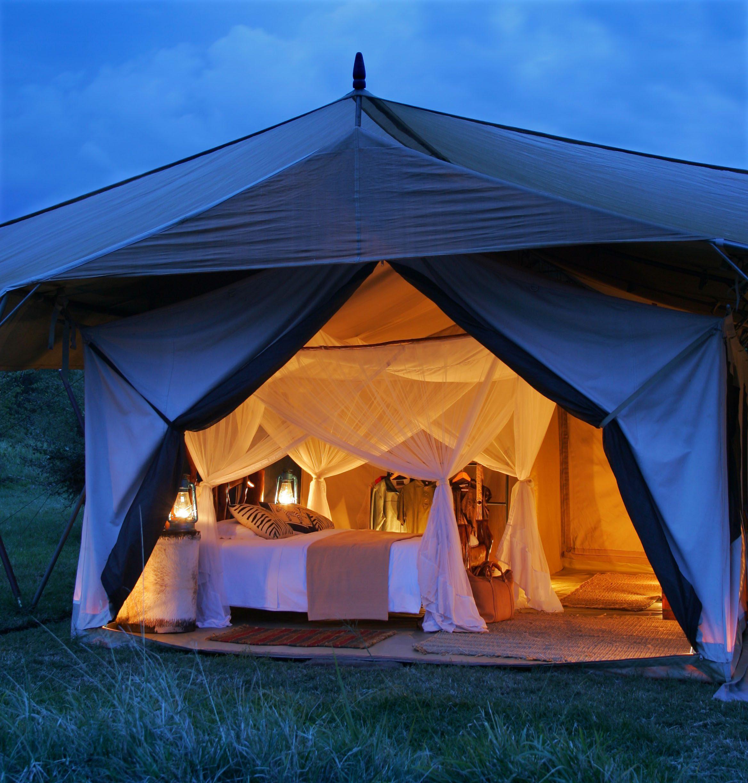 stay in Tented Suite on best fly-in kenya safari