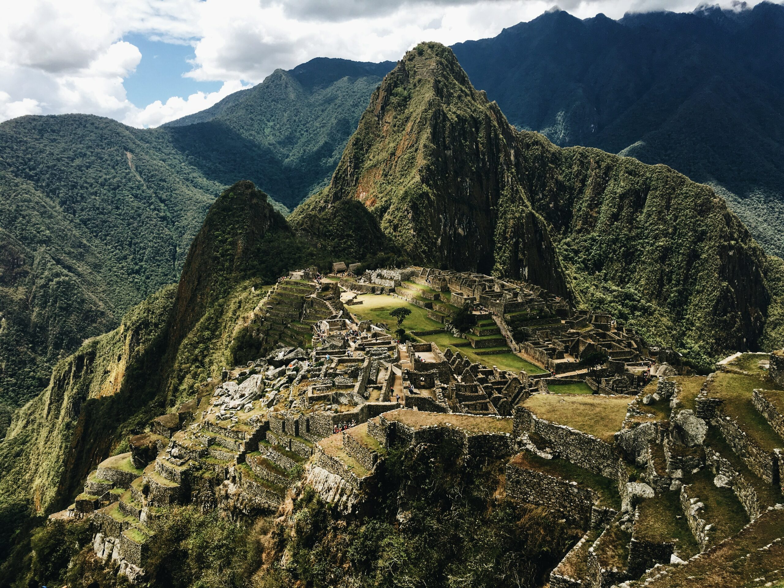 ancient city of the Incas at Machu Picchu