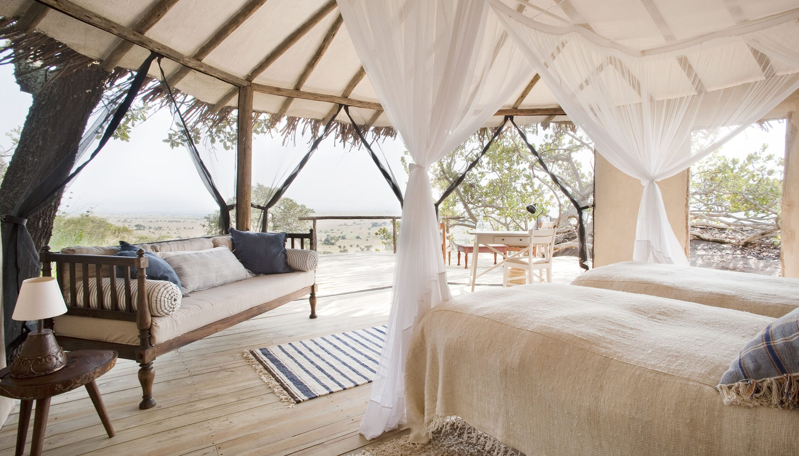 guest room at Lamai on our best East Africa safari