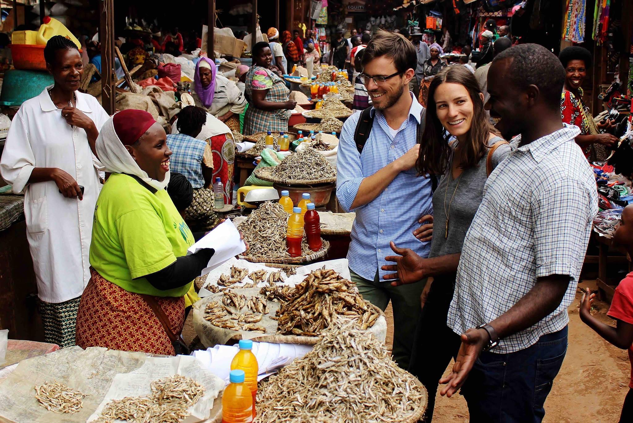 touring the Kigali Market