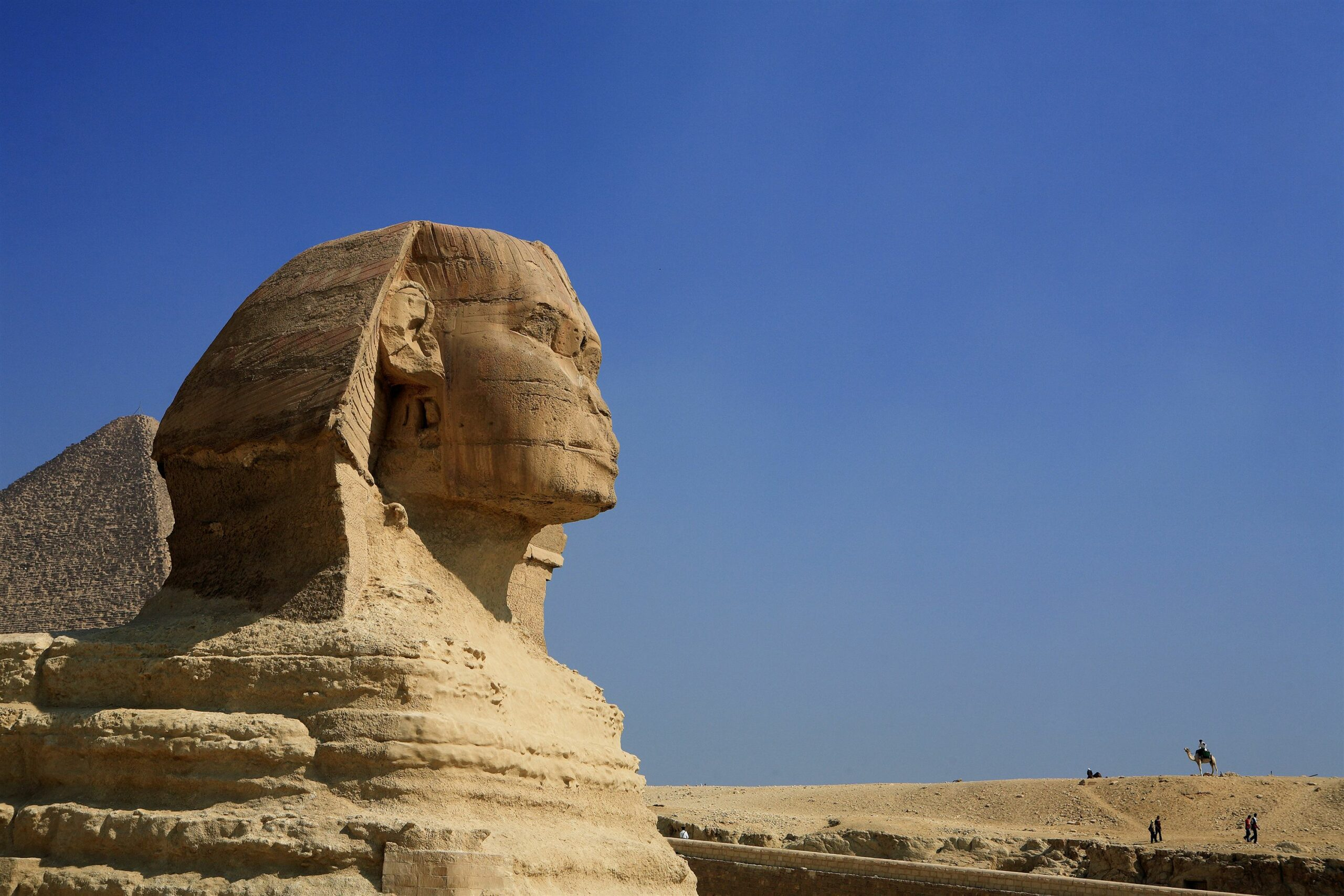 Sphinx in Cairo Egypt