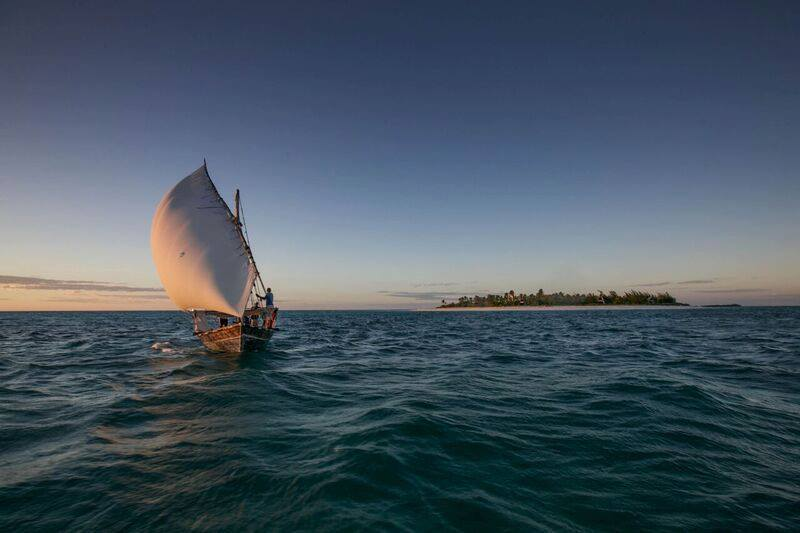 Dhow at Fanjove Island