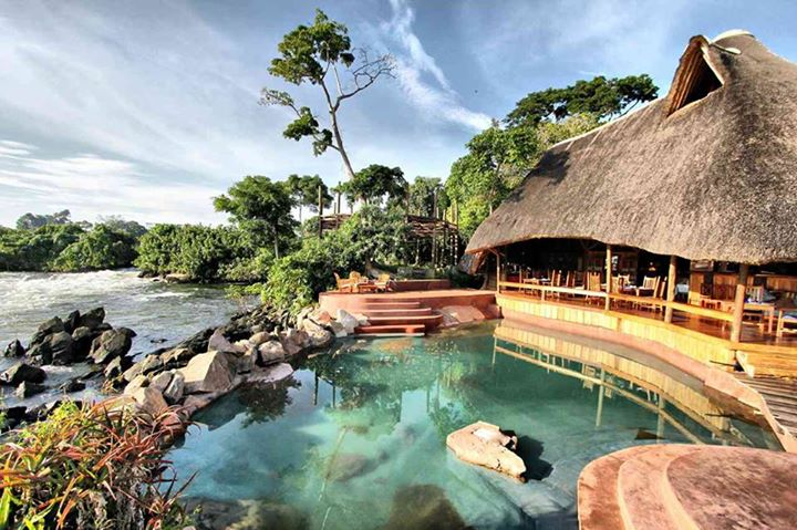 on our best Uganda safari stay at Lemala Wildwaters Pool