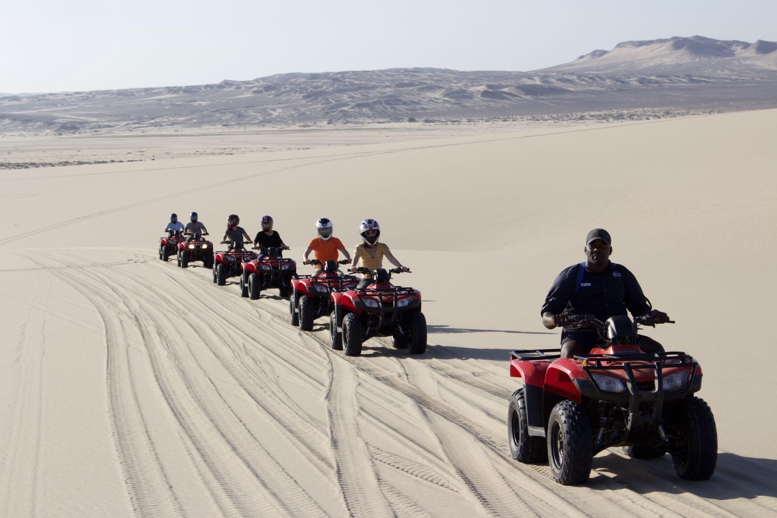 Skeleton Coast Shipwreck Lodge Namibia ATV