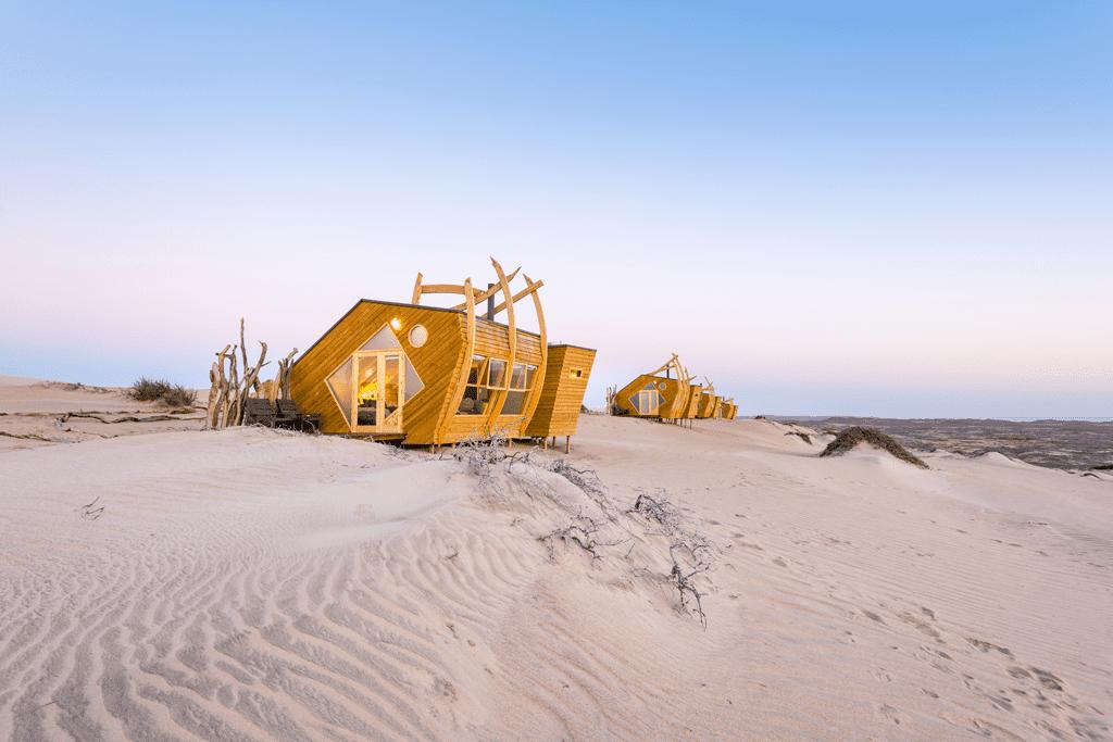 Skeleton Coast Shipwreck Lodge Namibia exterior room view