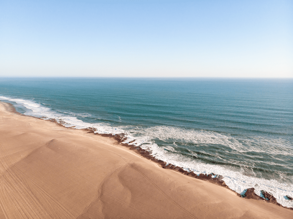 Skeleton Coast Beach