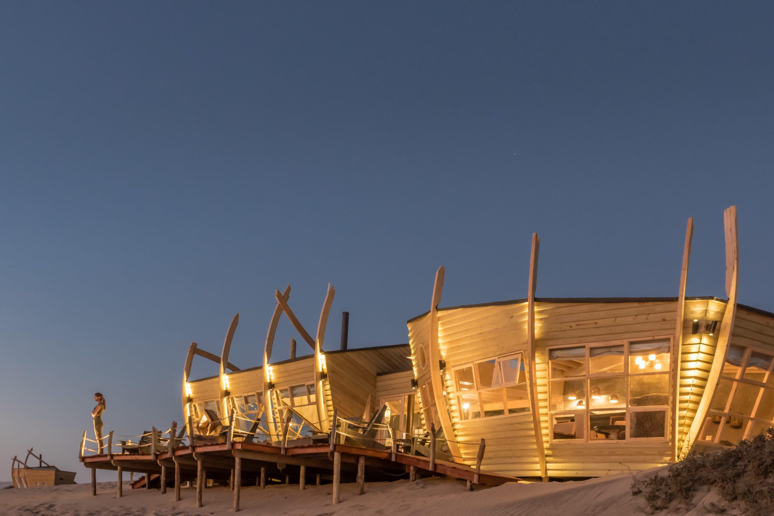 Skeleton Coast Shipwreck Lodge on our Namibia safari