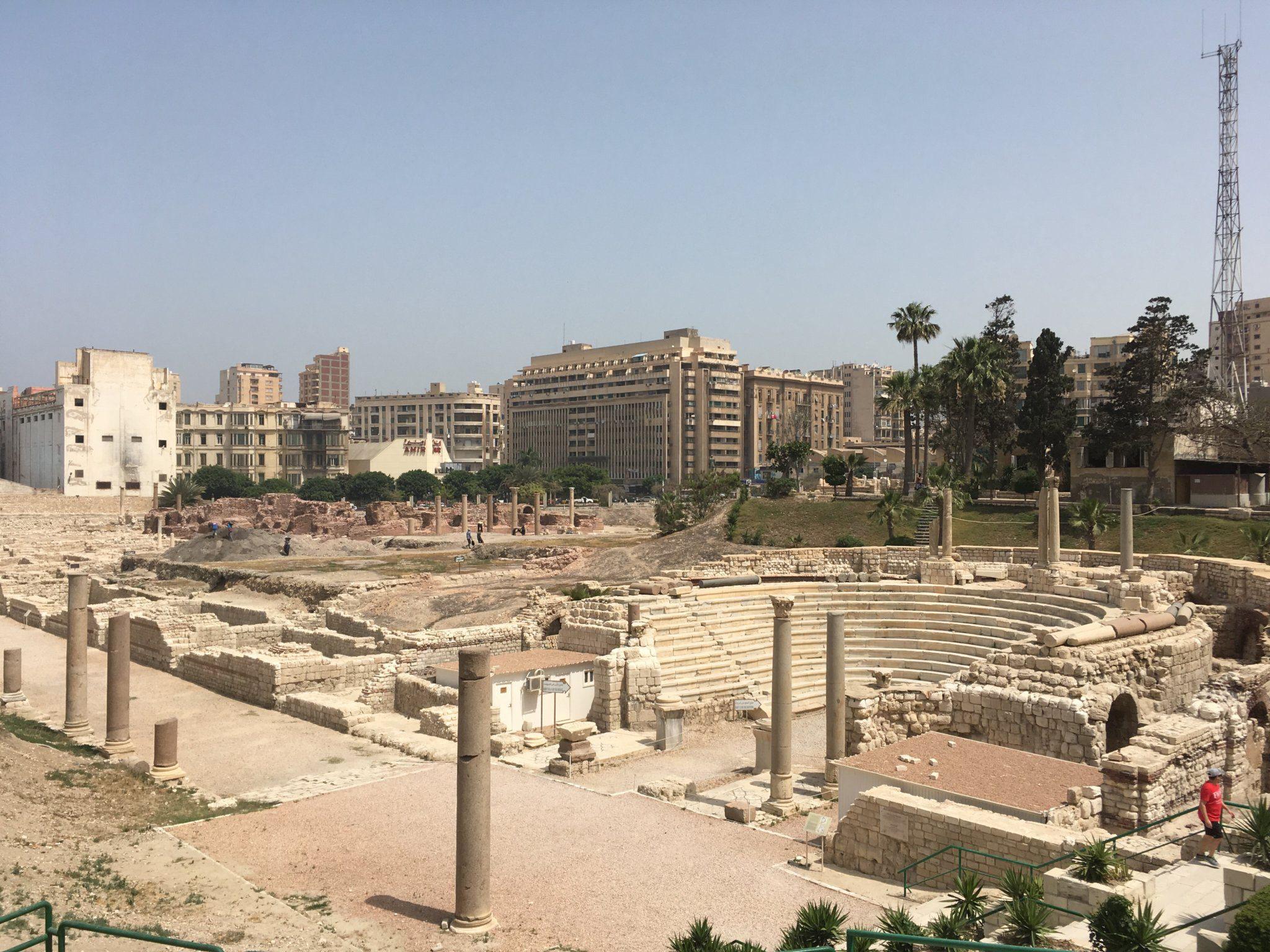 Alexandria Roman Amphitheater