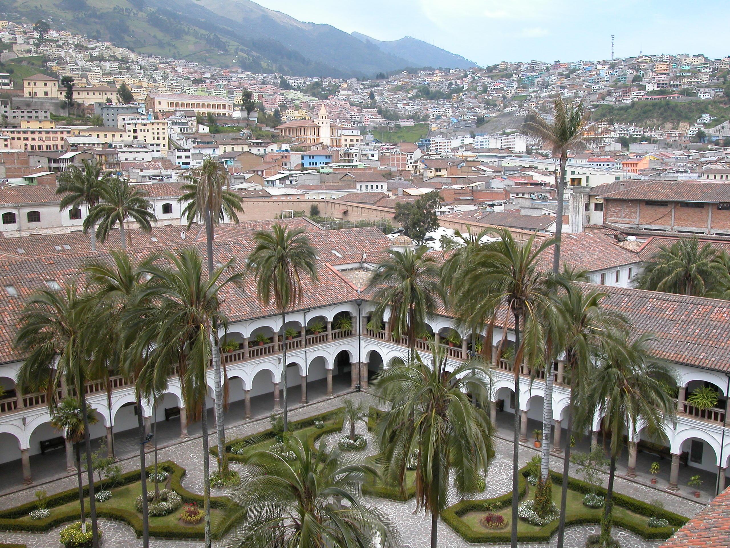 Convento de San Francisco in Quito