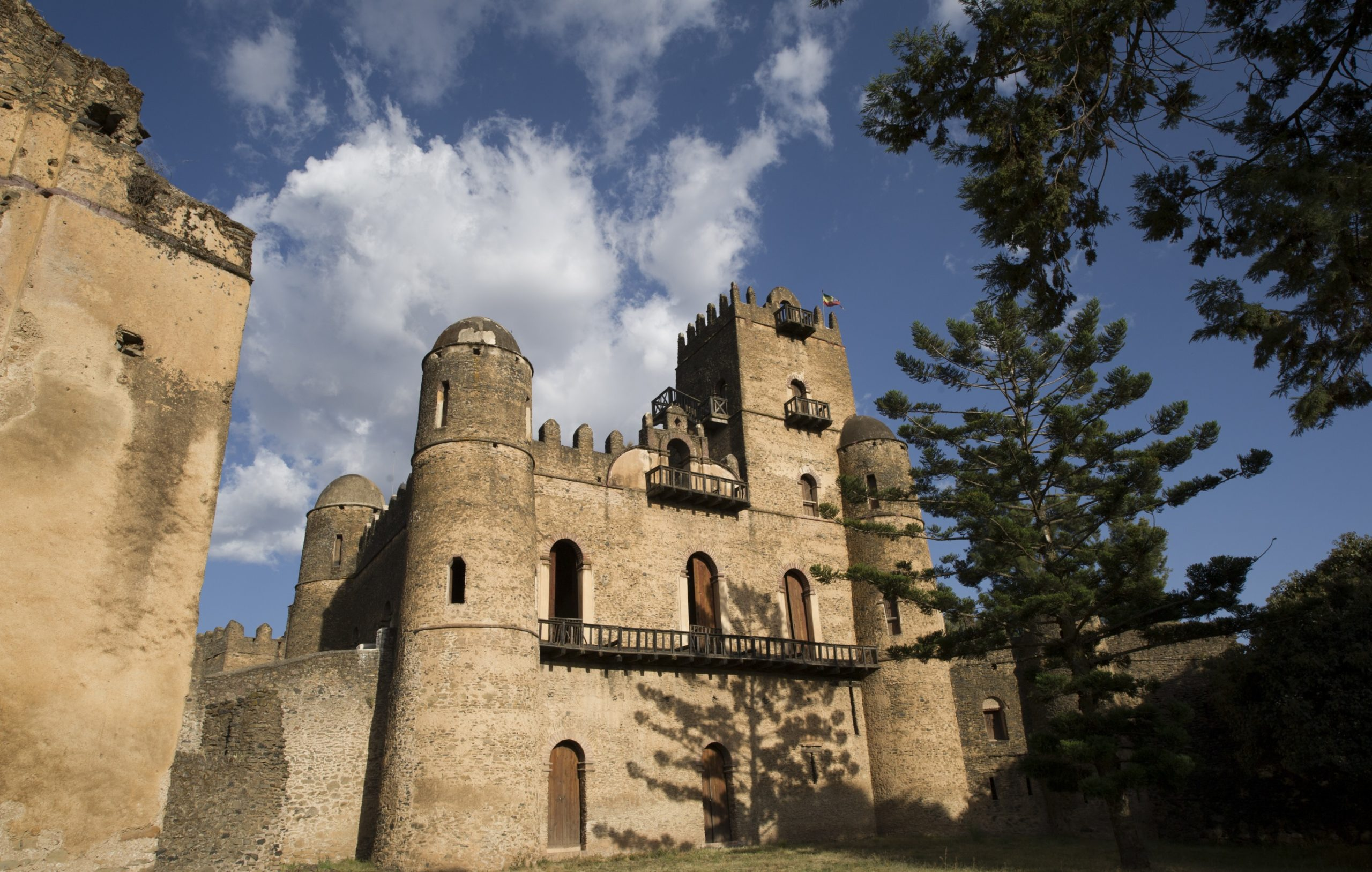 middle age castles of the Fasilidas dynasty in Gondar