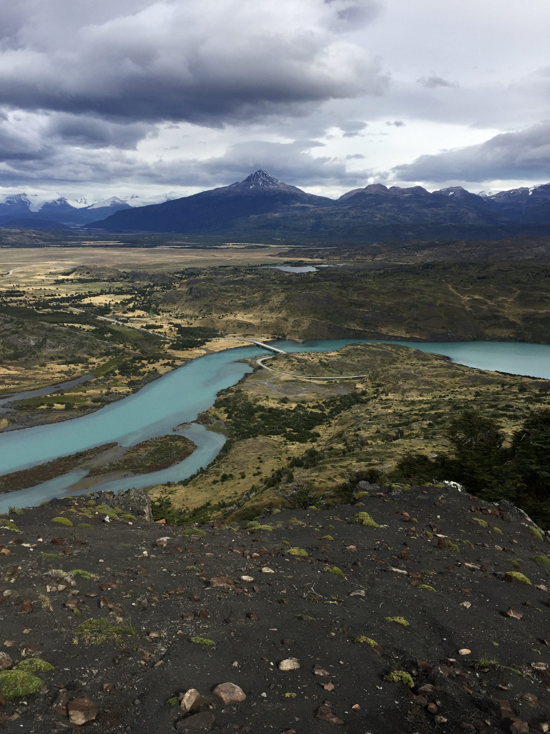 Water track hike in Torres Del Paine