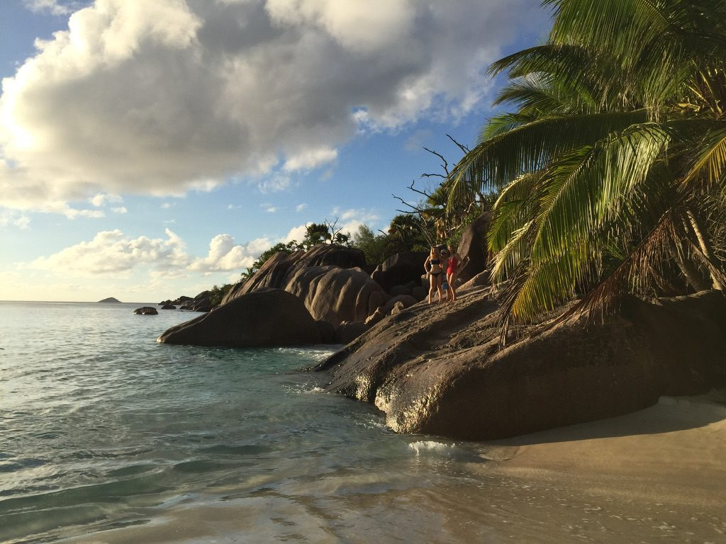 beach view at Anse Source d'Argent
