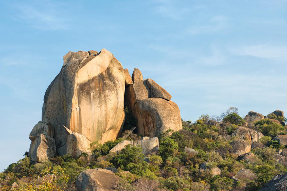 granite hills at matobo