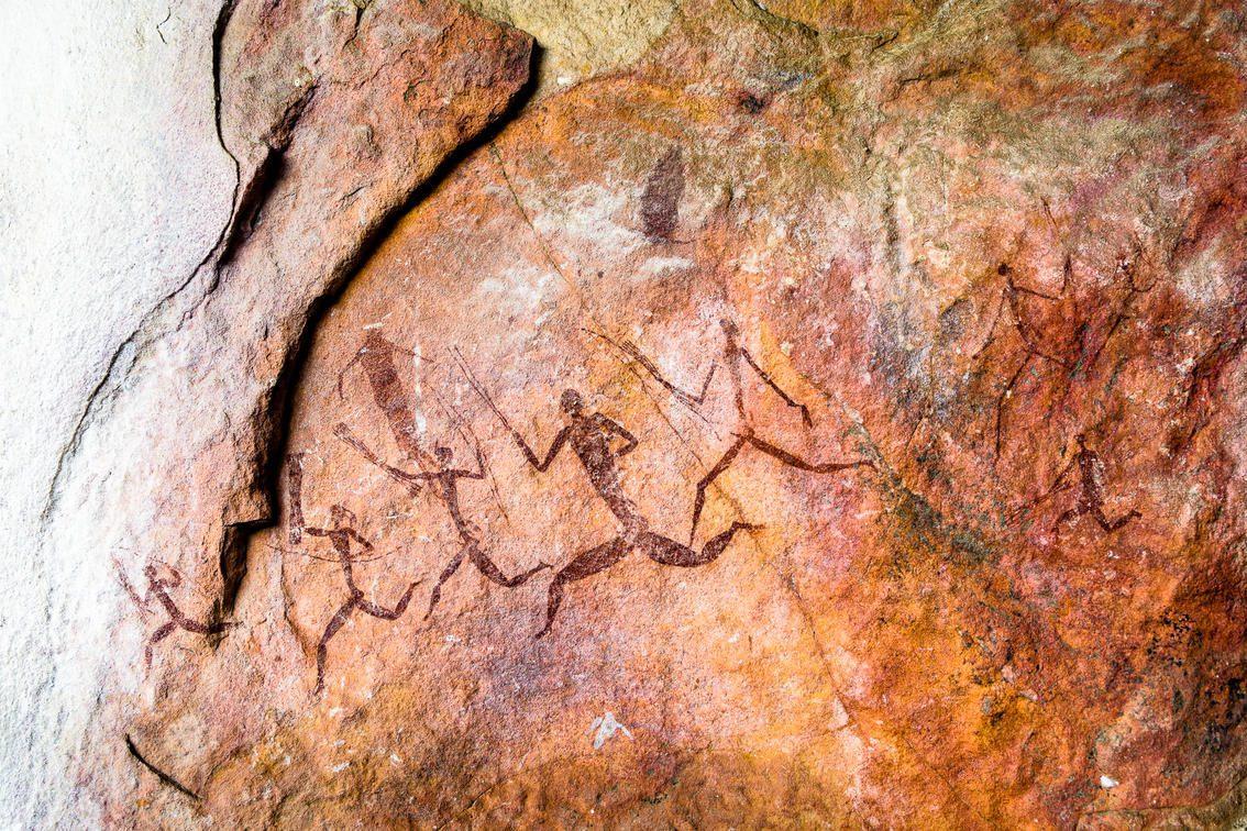close up rock art