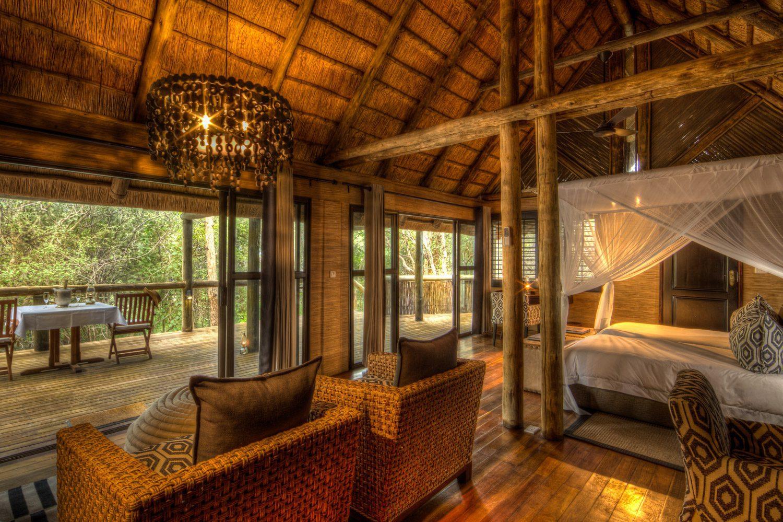 Savute Safari Camp interior view of chalet