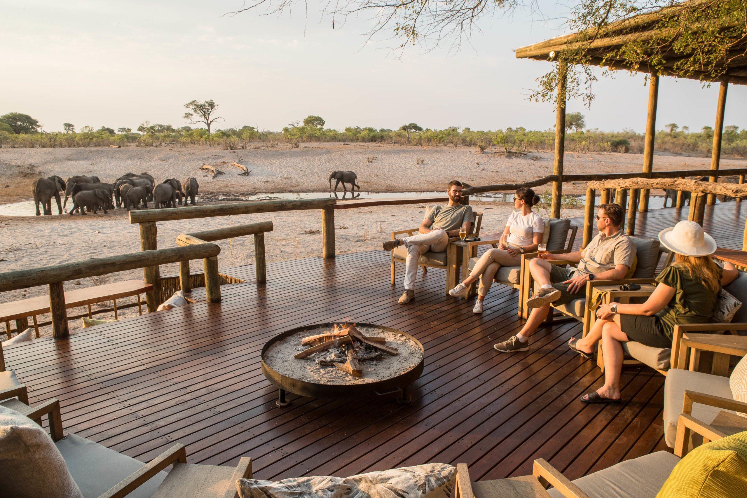 Savute Safari Lodge Main Area