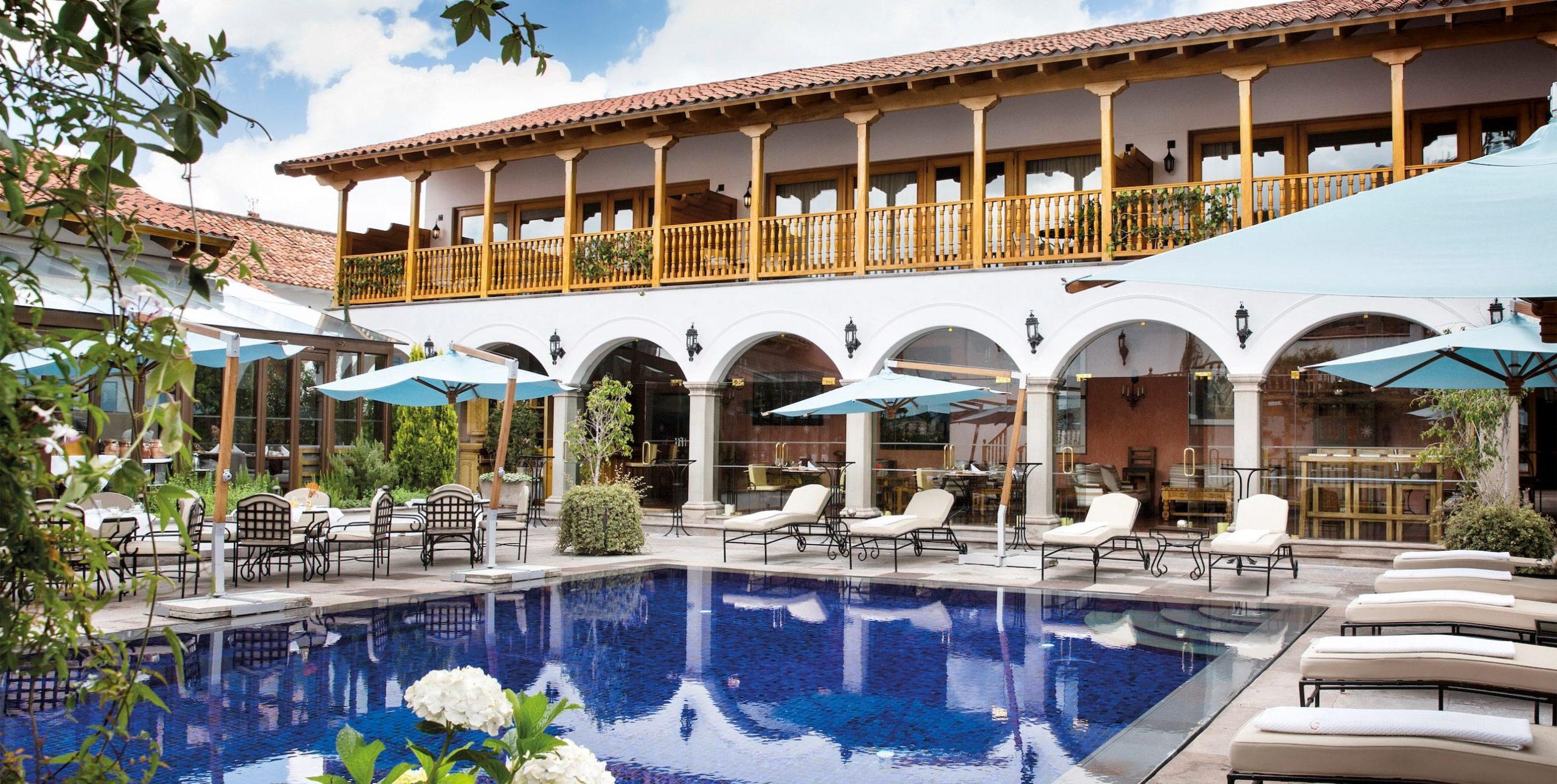 Belmond Palacio Nazarenas seen on Peru holiday