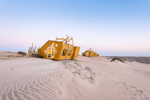 Skeleton Coast Shipwreck Lodge Namibia exterior room view