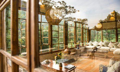 Bwindi Lodge - Living Area