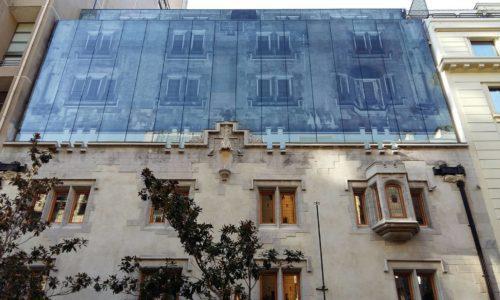 exterior of hotel magnolia